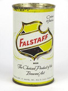 1955 Falstaff Beer 12oz Flat Top 61-37