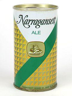 1968 Narragansett Ale 12oz Tab Top T95-34