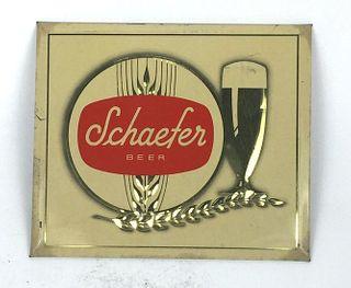 1947 Schaefer Beer  TOC Sign