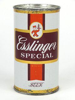 1953 Esslinger Premium Beer 12oz Flat Top 60-25