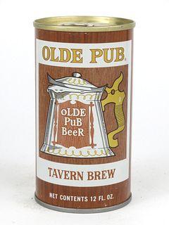 1968 Olde Pub Beer 12oz Tab Top T104-07