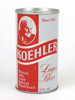 1969 Koehler Beer 12oz Tab Top T86-03