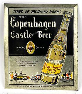 1940 Copenhagen Castle Beer - TOC Sign