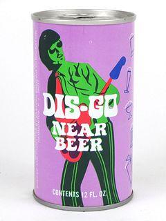 1976 Dis-Go Near Beer 12oz Tab Top T58-36