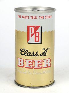 1973 PB Class A Beer 12oz Tab Top TT107-14