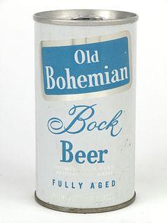 1970 Old Bohemian Bock Beer 12oz Tab Top T99-26