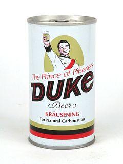 1970 Duke Beer 12oz Tab Top T60-14