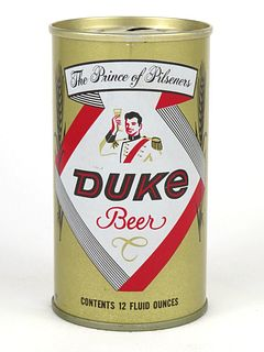 1969 Duke Beer 12oz Tab Top T60-12