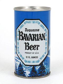 1967 Bavarian Beer 12oz Tab Top T38-16