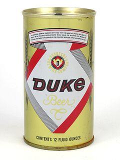 1967 Duke Beer 12oz Tab Top T60-11