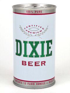 1967 Dixie Beer 12oz Tab Top T58-37