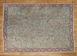 A European wool carpet of Arts & Crafts design,