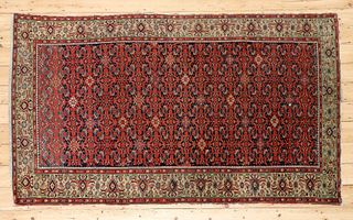 A West Persian wool rug,
