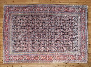 A Feraghan carpet,