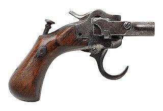 Rare A. Jarre 10-Barrel Harmonica Pistol