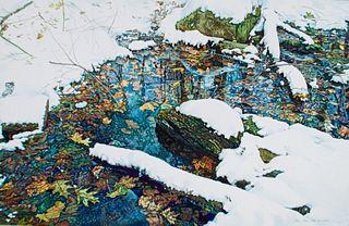 Choi Chor-Foo Watercolor Winter Landscape