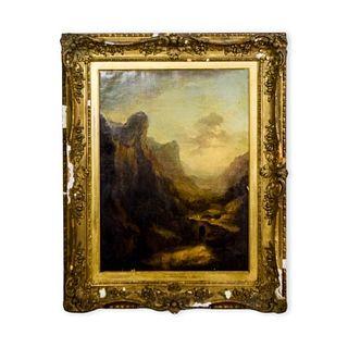 Attributed to Alexander Nasmyth Oil on Canvas