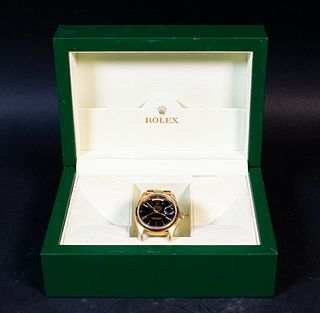 Men's Rolex 18k Gold Day-Date President