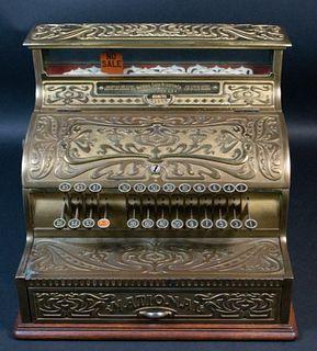 Brass and Bronze National Cash Register Model 137