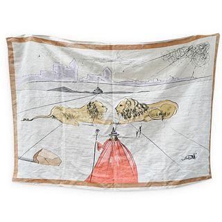 "Salvador Dali ""Tribe of Judah"" Tapestry"