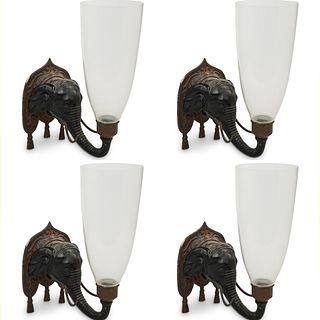 Billy Baldwin Decorative Elephant Sconces