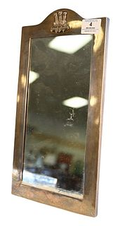 Sterling Silver Framed Mirror, height 14 1/2 inches, 11.6 t.oz.