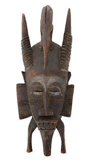 Senufo, Kpelie African Mask
