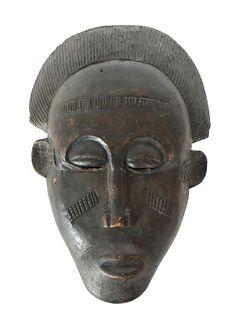 African Baule Mask, Ivory Coast