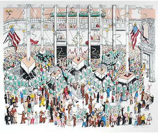 Charles Fazzino - Wall Street