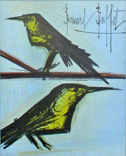 Bernard Buffet - Couple of Birds