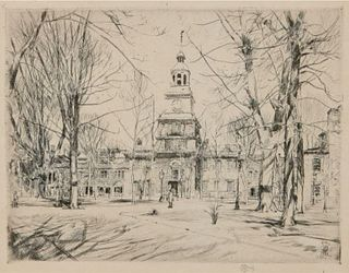 Childe Hassam - Independence Hall