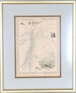 Early Map of Syria