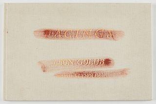 "Leon Golub ""Facings"" with David Reynolds Chicago Books 1st ed. Signed 1986"