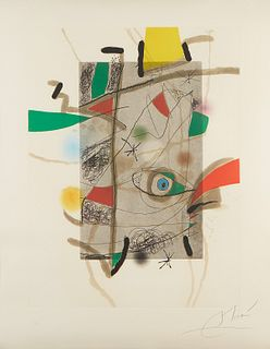 Joan Miro 'Llibre dels sis sentits' 1981