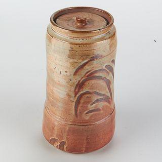 Wayne Branum Studio Ceramic Container w/ Lid - Marked