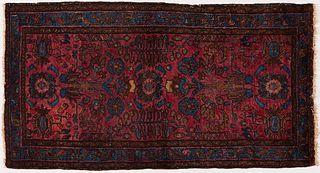 Burgundy Persian Rug 3' x 6'