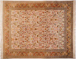 Large Tabriz Persian Rug 8' x 10'