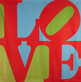 "Robert Indiana ""Love"" Tapestry"