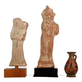 Grp: 3 Terracotta Pieces