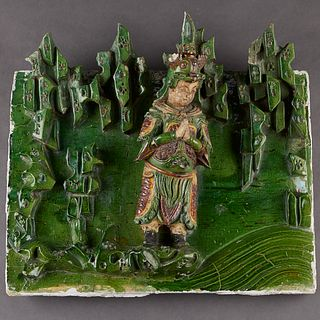Very Large Chinese Ming Architectural Tile