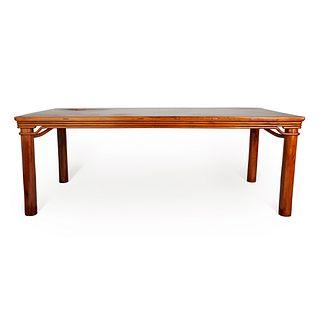 Large Chinese Huanghuali Rectangular Table