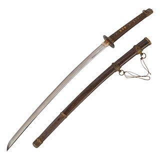 Japanese Kai Gunto Sword World War II