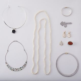 Grp: Sterling Silver Jewelry