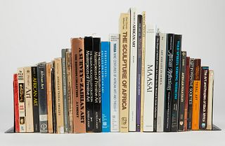 Lrg Grp: Books on Africa and African Art