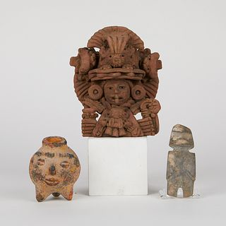 Grp: 3 Mexican Artifacts