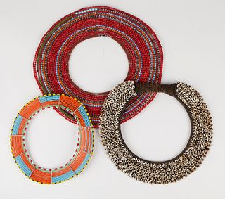 Grp: 3 Collars 2 African and 1 New Guinea
