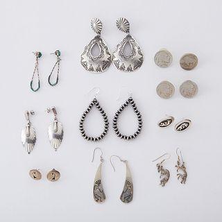 Grp: Southwestern Silver Earrings