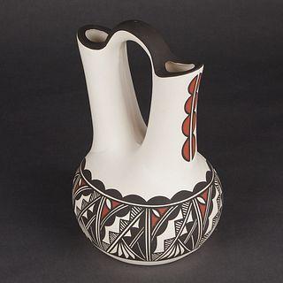 Lorraine & Cyrus Concho Acoma Wedding Vase