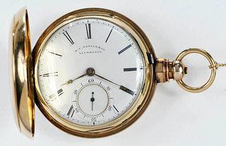 M. I. Tobias & Co. 18kt. Pocket Watch