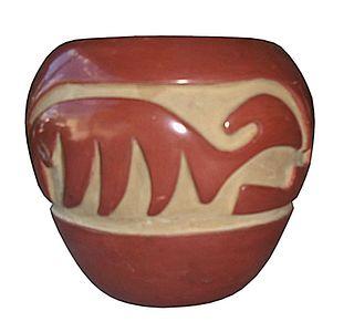 Santa Clara Pueblo Pottery by Billy Cain
